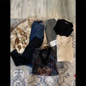 8 pc lot twenty one, DKNY,Aeropostale